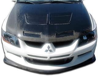 Carbon Creations Replacement for 2003-2005 Mitsubishi Lancer Evolution 8 Demon Front Lip Under Spoiler Air Dam - 1 Piece