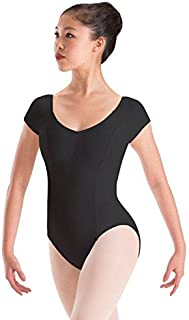Motionwear Reglan Cap Sleeve High Back Leotard