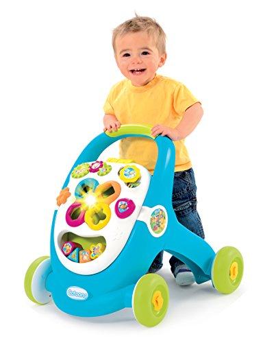 Smoby - 110304 - Cotoons Trott - Trotteur pour Enfant - MultiFonction - sons et...