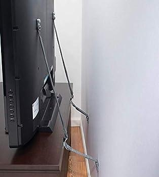 Safety 1st TV & Furniture Safety Straps Black Multi 2 Straps