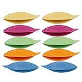 SUPVOX Encaje de lanzadera plástico para Mano Punta de fabricación de Herramientas 10Unidades (Mixta Color)