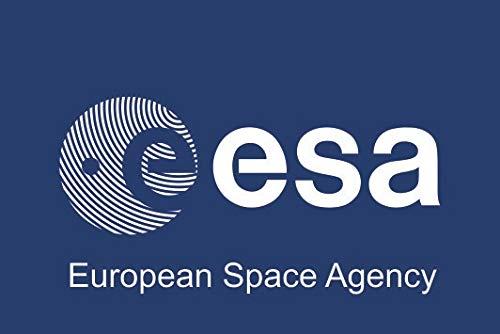 U24 Aufkleber ESA Flagge Fahne 8 x 5 cm Autoaufkleber Sticker