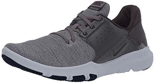 Nike Men's Flex Control TR3 Sneaker, Anthracite/Anthracite - Black, 9 Wide US