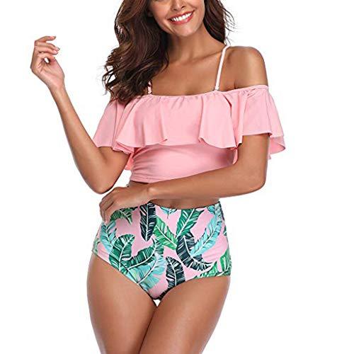 Zottom Damen-Damen XL xs mädchen x Brazilian brasilianische Brasil weiß Leoparden cupshe Cup Set Bikinis up über e y h ff pf orange Oberteil pink rosa Verschluss Vintage olivgrün hochgeschlossen