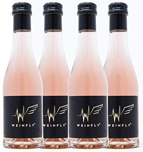WEINFLY - The First Wine With Energy - 4er Pack, 4 x 200ml Wein - angereichert mit Guarana, Taurin und Koffein. Der erste Wein mit Energy.