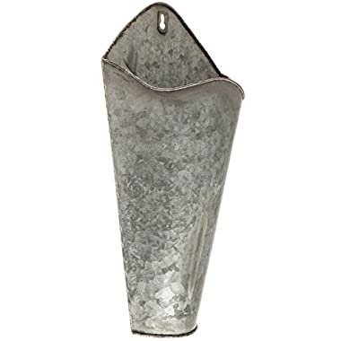 Galvanized Metal Wall Plant Container