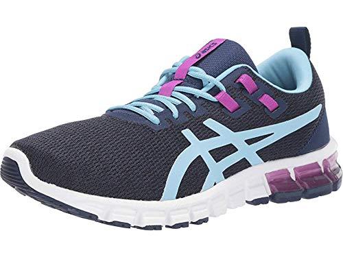 ASICS Women's Gel-Quantum 90 Running Shoes, 7.5M, Blue Expanse/Heritage Blue
