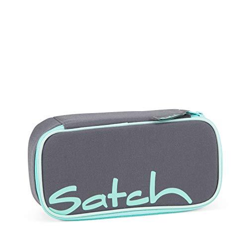 Satch Schlamperbox - Mäppchen groß, Trennfach, Geodreieck - Mint Phantom - Mint