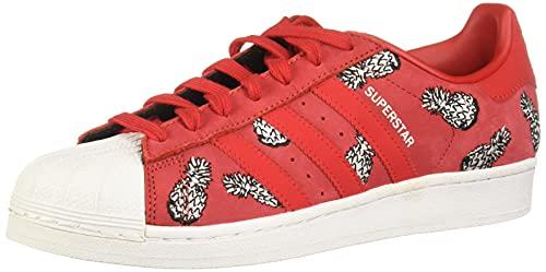 adidas Superstar W, Zapatillas Mujer, Rojo (Scarlet/Scarlet/Footwear White 0), 38 2/3 EU