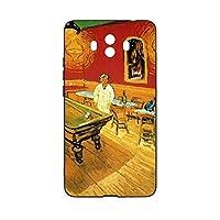 Van Gogh-night Cafe電話ケース华为Mate 10 ケース TPU材質 スリム ソフト 軽量 カバー かわいいケース衝撃吸収 ワイヤレス充電マットな質感のスマートフォンケース
