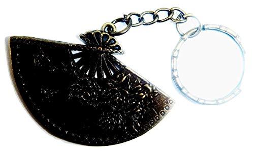Royal Swan Designs - Abanico de Mano (Organza, tamaño Grande), diseño de...