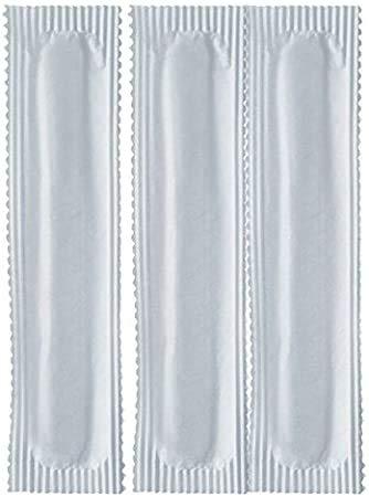 GPPLAST PZ 500 Palette Lunghe CM 10,5 per Cappuccino CIOCCOLATE E Bevande Calde INCARTATE SINGOLARMENTE