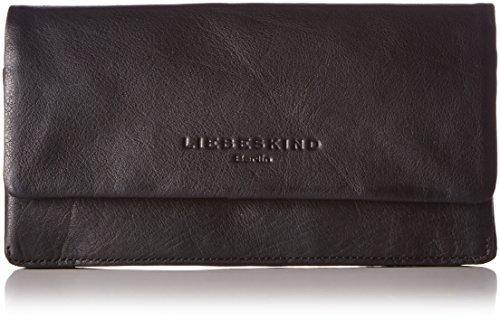 Liebeskind Berlin Damen Slam-vintag Geldbörsen, Black, 19x10x3 cm