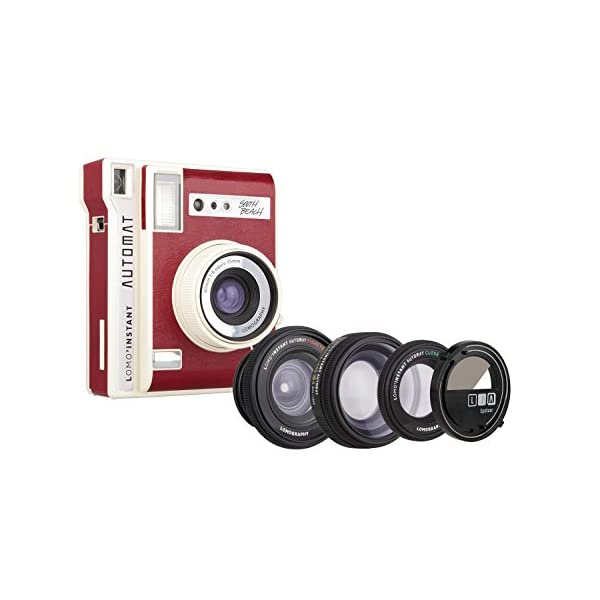 Lomography Lomo'Instant Automat South Beach + 3 Lenses – Instant Film Camera
