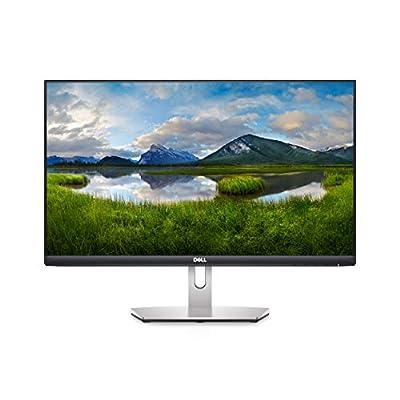 Dell S2421H 24 Inch Full HD (1920x1080) Monitor, 75Hz, IPS, 4ms, AMD FreeSync, Built-in Speakers, Ultrathin Bezel, 2x HDMI, 3 Year Warranty, Silver