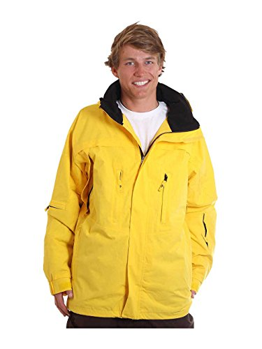 Light Nine – Snowboard Jacke, Herren, gelb, XL