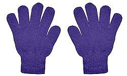 Glamio Boys Kids and Girls Kids Winter Gloves Pure Woolen Gloves