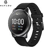 Haylou Smartwatch Donna Uomo Smart Watch Notifiche Messaggi Telefono Orologio Fitness Tracker Cardiofrequenzimetro da Polso Contapassi Calorie Cronometro GPS Percorso Impermeabile Global Version