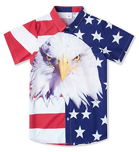 Kids USA Hawaiian Shirt