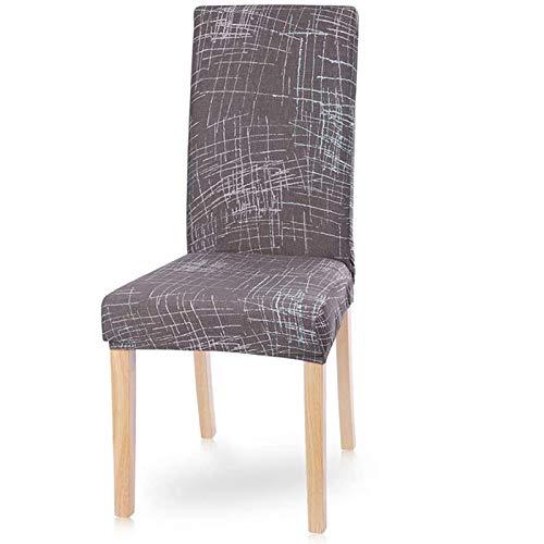 PLDYJ Stuhlabdeckung Moderne Esszimmerstuhl Cover Spandex Stretchstuhlabdeckung Esszimmer Stuhlabdeckung Stretch Chair Cover Hotel Bankett (Color : Beioufengqing, Specification : 4pcs)