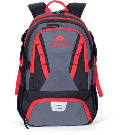 35L Choteau Daypack Backpack - black/red
