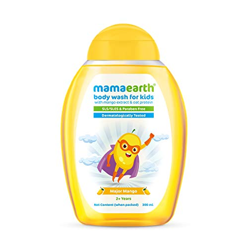 Mamaearth Major Mango Body Wash For Kids with Mango & Oat Protein - 300 ml
