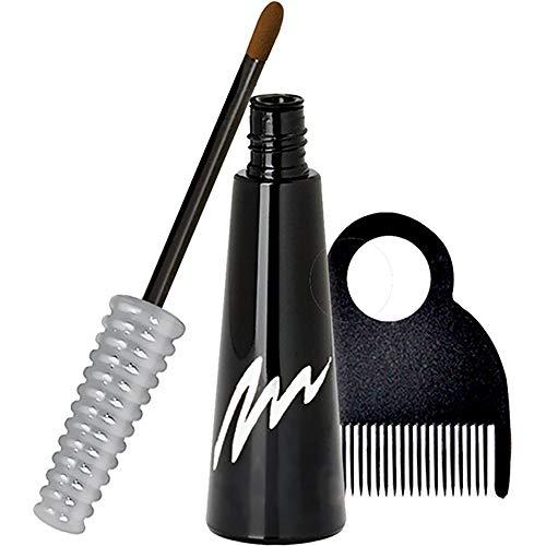 ColorMark PRO Ansatz-Kaschierstab mit flüssiger Haarfarbe für graues Haar, Echte Haarfarbe – Hellbraun