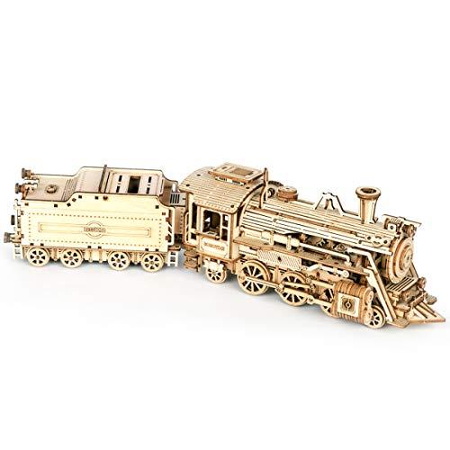 ROKR Tren Madera Maquetas para Construir - Maquetas para