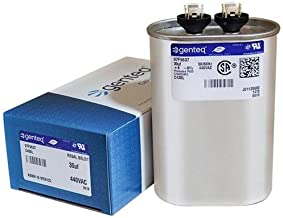 Packard POCF30 - 30 uF MFD x 440 VAC GE Industrial Replacement Capacitor Oval # C430L / 97F9637