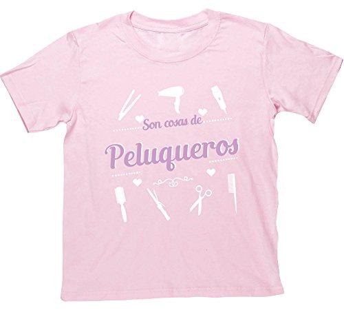 Hippowarehouse Son Cosas de Peluqueros Camiseta Manga Corta niños niñas Unisex