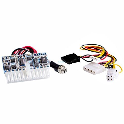DC-ATX-160W 160W de alta potencia DC 12V 24Pin ATX switch PSU Car Auto mini ITX ATX Fuente de alimentación