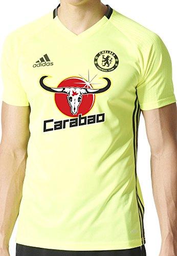 Adidas Chelsea FC Training Jersey-SYELLO (X-Large) Solar Yellow