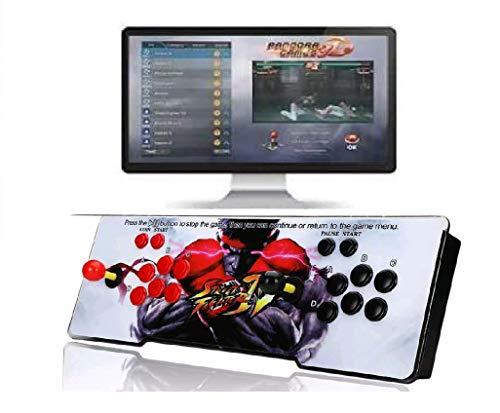 Theoutlettablet  Pandora Box 3D WiFi con 4018 Juegos Retro Consola Maquina Arcade Video Gamepad VGAHDMIUSB