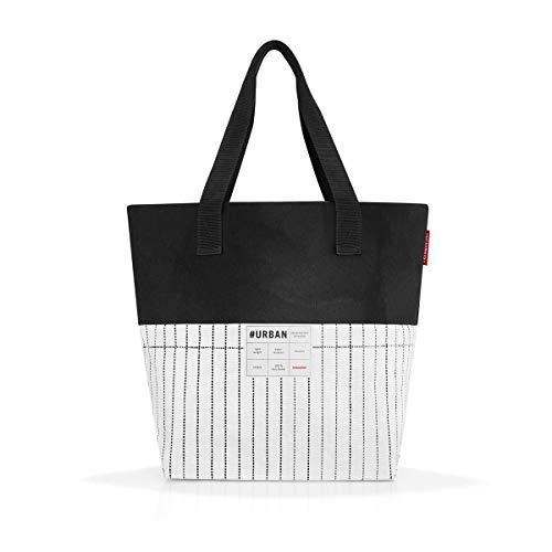 reisenthel urban bag paris black & white Maße: 48 x 40 x 18 cm / Volumen: 15 l