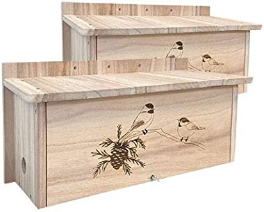 Pack of 2 Horizontal Winter Roosts by Prime Retreat