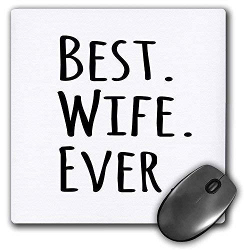 Gaming Mouse Pad für Notepad Beste Frau aller Zeiten Romantisch Verheiratet Verheiratet Liebesgeschenke für Sie Zum Jubiläum oder Valentinstag Rutschfeste Gummi School Desk Decor Mouse Pad für Laptop