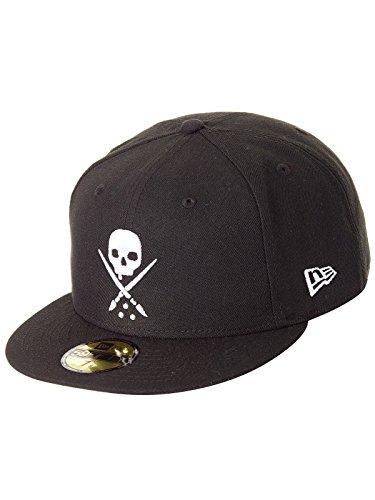Sullen Men's Ne Eternal Fitted Hat Black 7 3/8