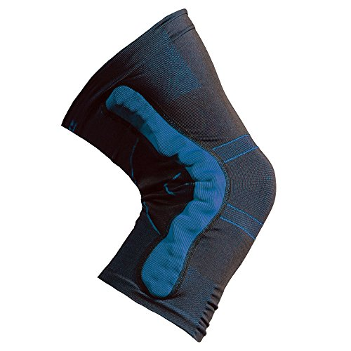 Pflexx Herren Compression Knee Support Interchangeable Twin Pack Bandage, Blau, XXL