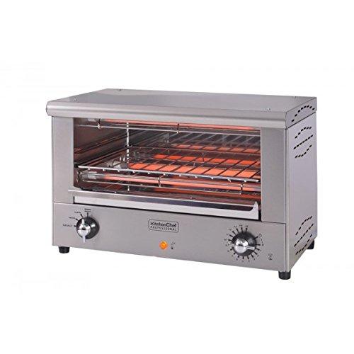 kitchenchef snackpro libre installation électrique 2000 W Acier inoxydable Four