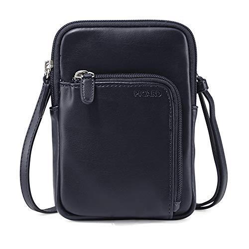Picard, Damentaschen aus Synthetik, Handytasche/Portemonnaie in der Farbe Ozean/Blau, aus der Serie Full, 2913288023