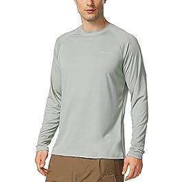 BALEAF Men's Long Sleeve Shirts Dri Fit Lightweight UPF...