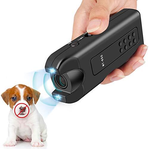 Vitorun Handheld Dog Repellent, Ultrasonic Infrared Dog Deterrent, Bark Stopper + Good Behavior