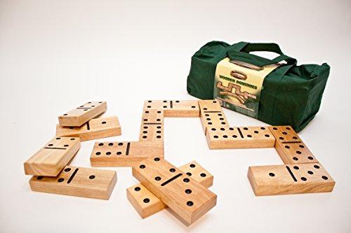 Traditional Garden Games Wooden Garden Dominoes