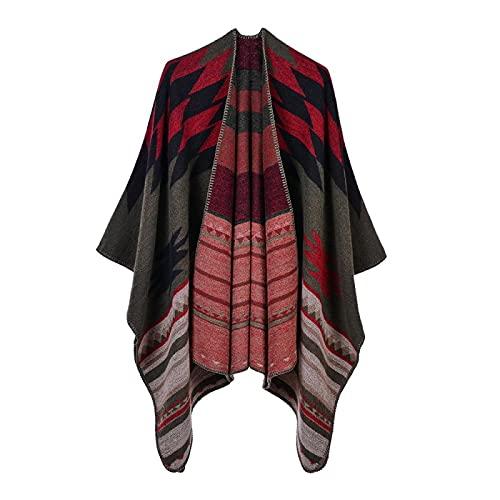 ahliwei Chale, bufandas, bufandas, bufandas, chales, velos y velos, mujeres imitando chales de Cachemira, toallas, chales de playa 12