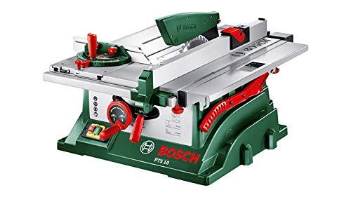 Bosch Tischkreissäge PTS 10 mit mobilem Untergestell PTA 2000 - 2