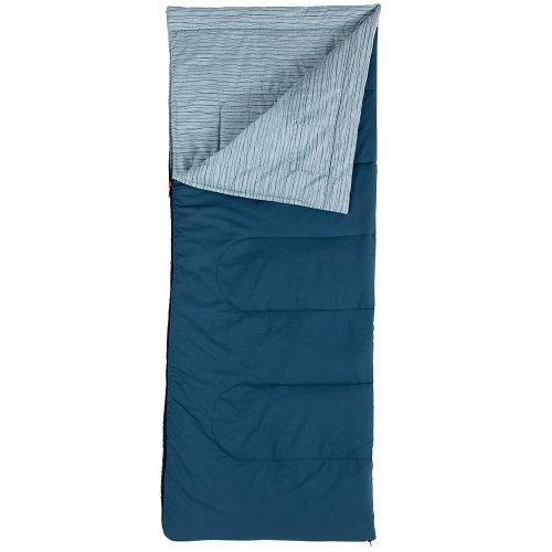 Coleman Hampton - Saco de dormir (220 x 100 cm) azul azul Talla:220 x 100 cm
