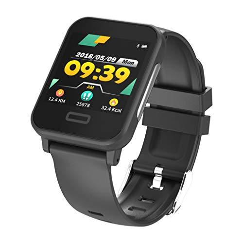 JIEGEGE Smartwatch Mit EKG-Herzfrequenzmesser Bluetooth-Fitness Uhr, Sportuhr Zur Schlafüberwachung, IP67-Leben Wasserdicht, Für Android Und IOS