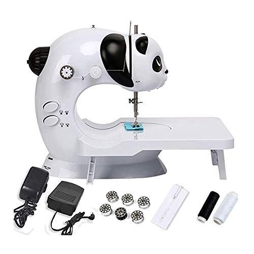 zgpqaw Máquina de coser infantil, color blanco y negro, para niños