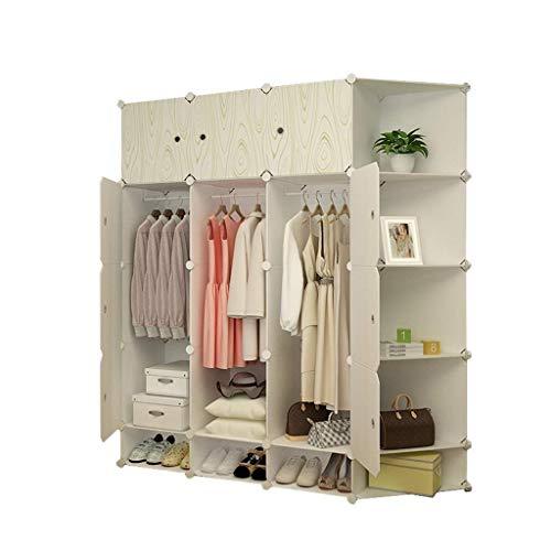 Haushaltsprodukte Tragbarer Kleiderschrank Aufbewahrungsschrank Tragbarer Kleiderschrank zum Aufhängen von Kleidung Kombinierter Schrank Modularer Schrank zur Platzersparnis Idealer Aufbewahrungsor