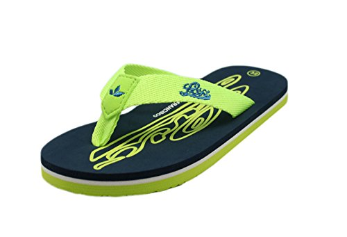 Lico Flamenco, Zapatos de Playa y Piscina Unisex Niños, Azul (Marine/Lemon Lot), 33 EU